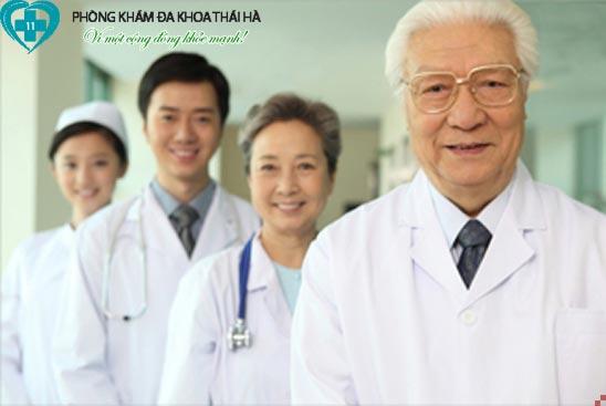 Đội ngũ y bác sĩ phòng khám đa khoa Thái Hà