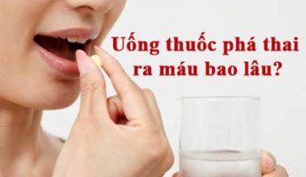 uống thuốc phá thai ra máu